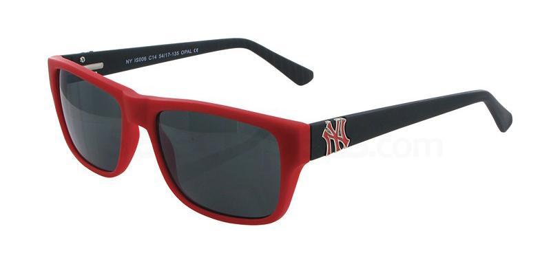 C14 NYIS006 Sunglasses, New York Yankees TEENS