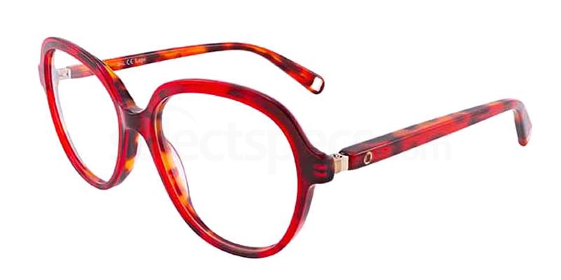 brightly coloured tortoiseshell glasses Lapö LAAA081