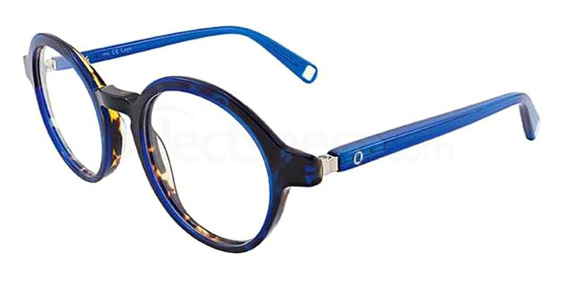blue prescription glasses