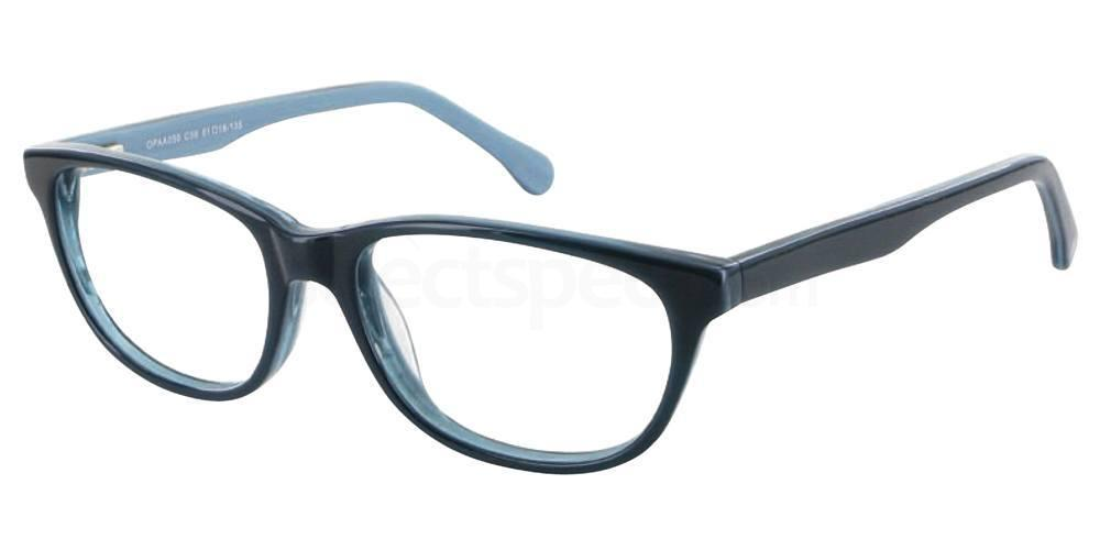 C36 OPAA050 Glasses, O Plus
