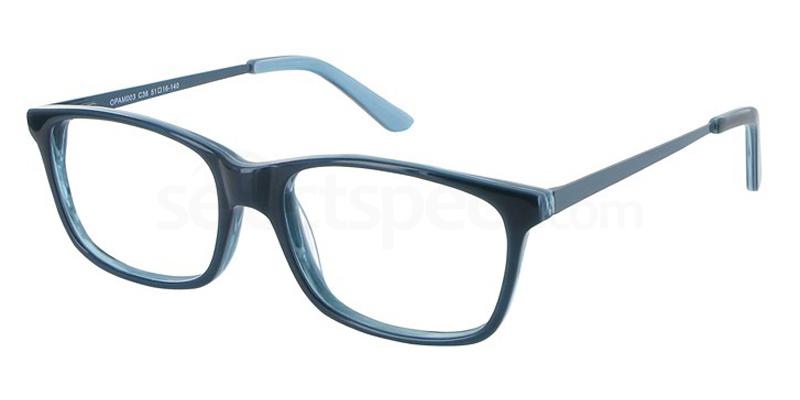 C36 OPAM003 Glasses, O Plus