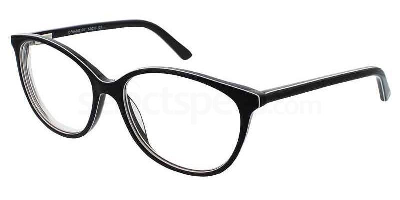 C01 OPAA067 Glasses, O Plus