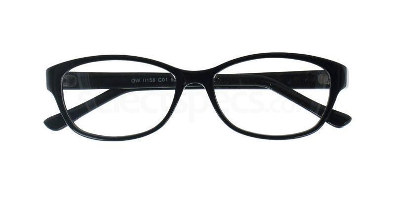 C01 OWII158 Glasses, Owlet