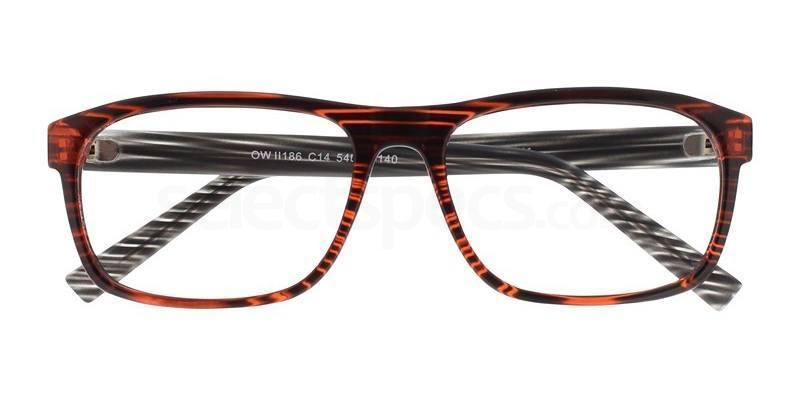 C14 OWII186 Glasses, Owlet