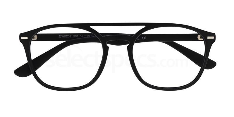 C01 OWII259 Glasses, Owlet