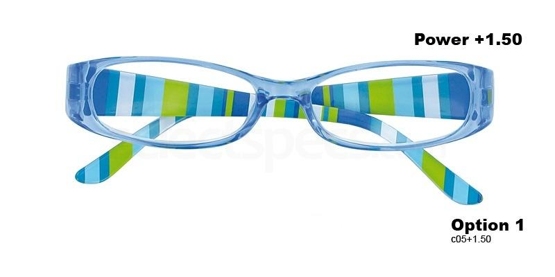 C05+1.50 Power PRII048C05 Reading Glasses-Light Blue Accessories, Proximo