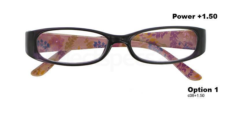 C08+1.50 Power PRII048C08 Reading Glasses-Purple Accessories, Proximo