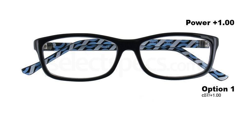 C07+1.00 Power PRII055C07 Reading Glasses-Navy Accessories, Proximo