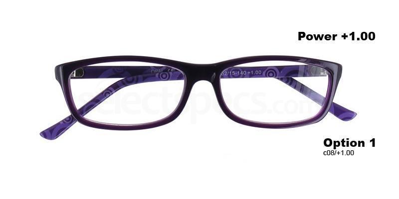 C08+1.00 Power PRII055C08 Reading Glasses-Violet Accessories, Proximo