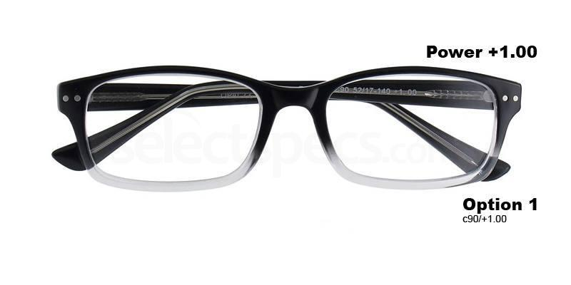 C90+1.00 Power PRII056C90 Reading Glasses-Crystal Accessories, Proximo
