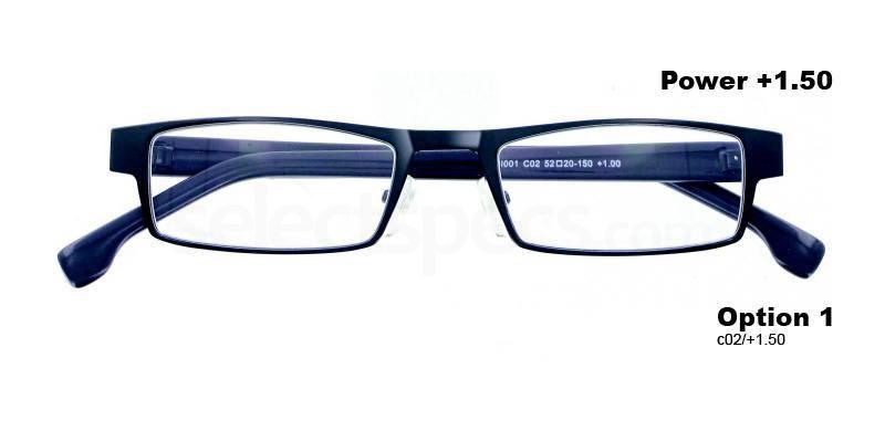 C02+1.50 Power PRMI001C02 Reading Glasses-Gun Accessories, Proximo