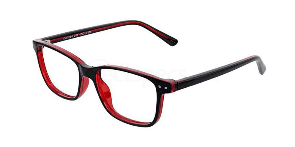 C01 OWII284 Glasses, Owlet TEENS