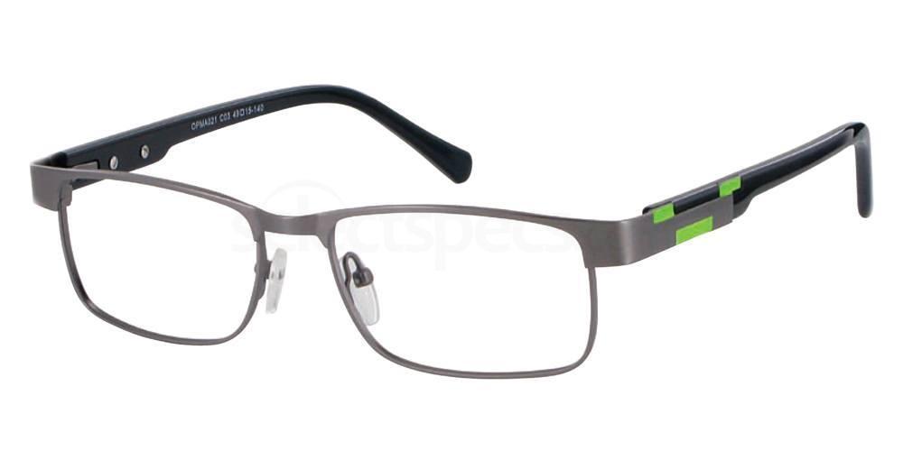 C03 OPMA021 Glasses, O Plus TEENS