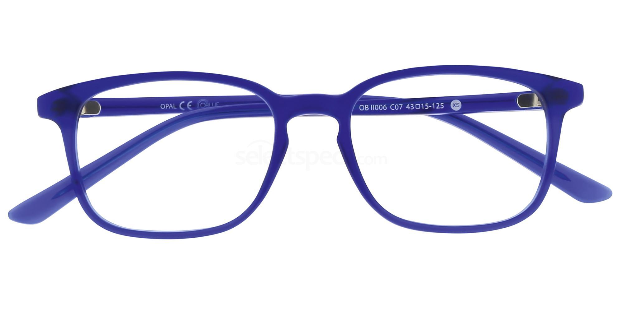C07 OBII006XS Glasses, Oblue