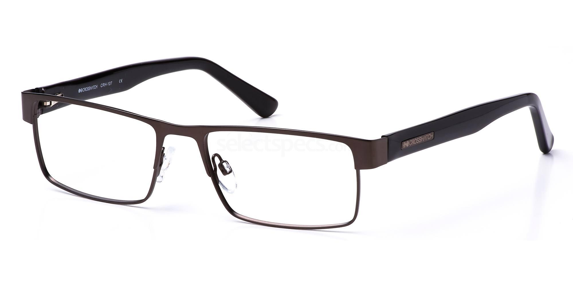 C1 CRH107 Glasses, Crosshatch