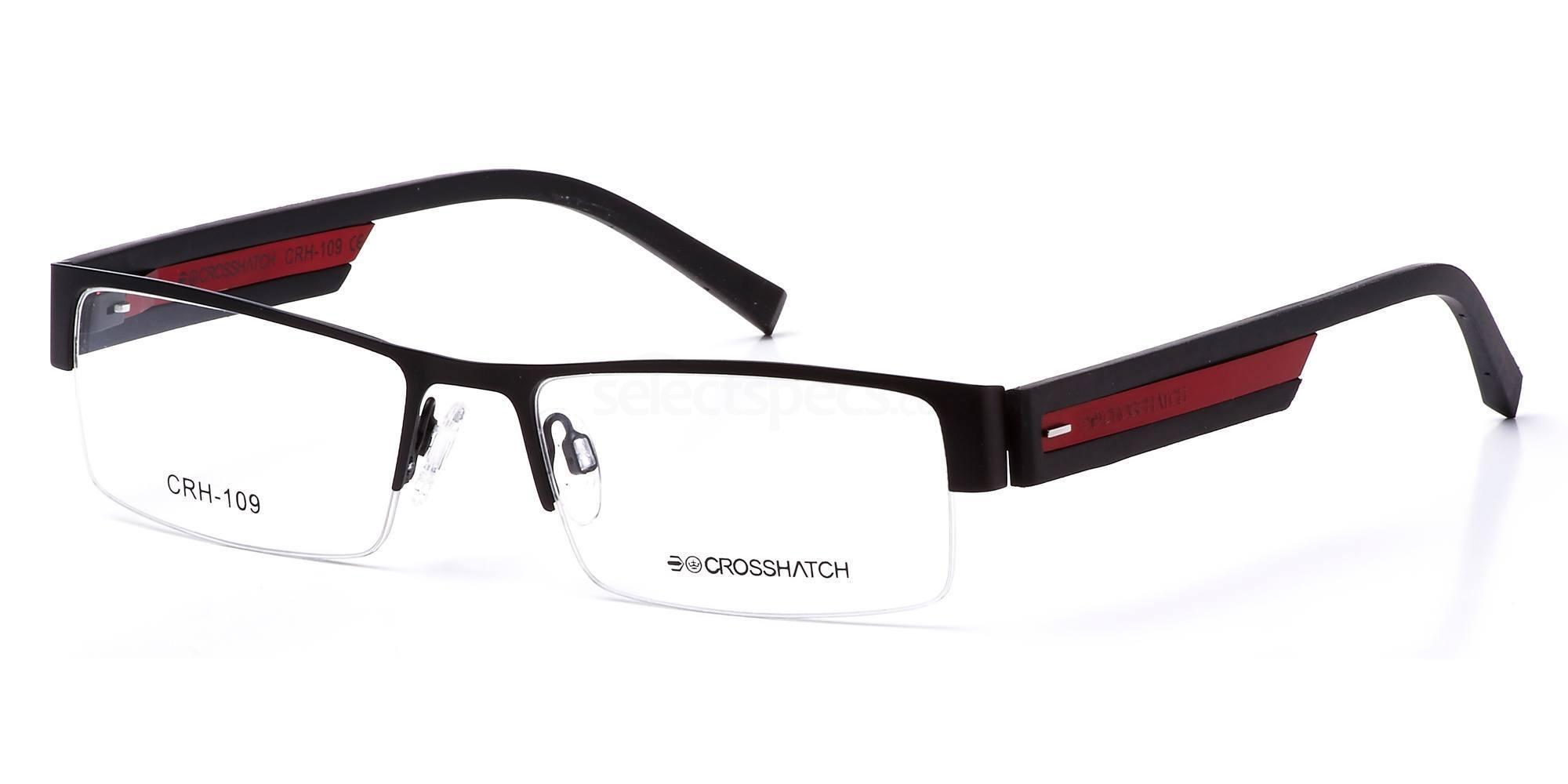 C1 CRH109 Glasses, Crosshatch