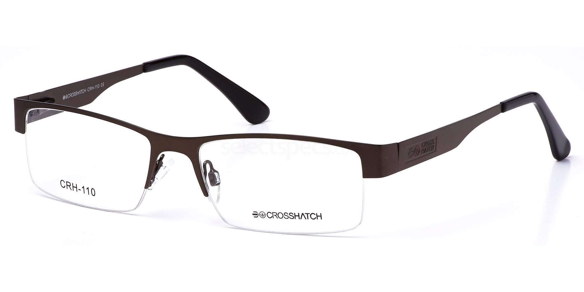 C1 CRH110 Glasses, Crosshatch