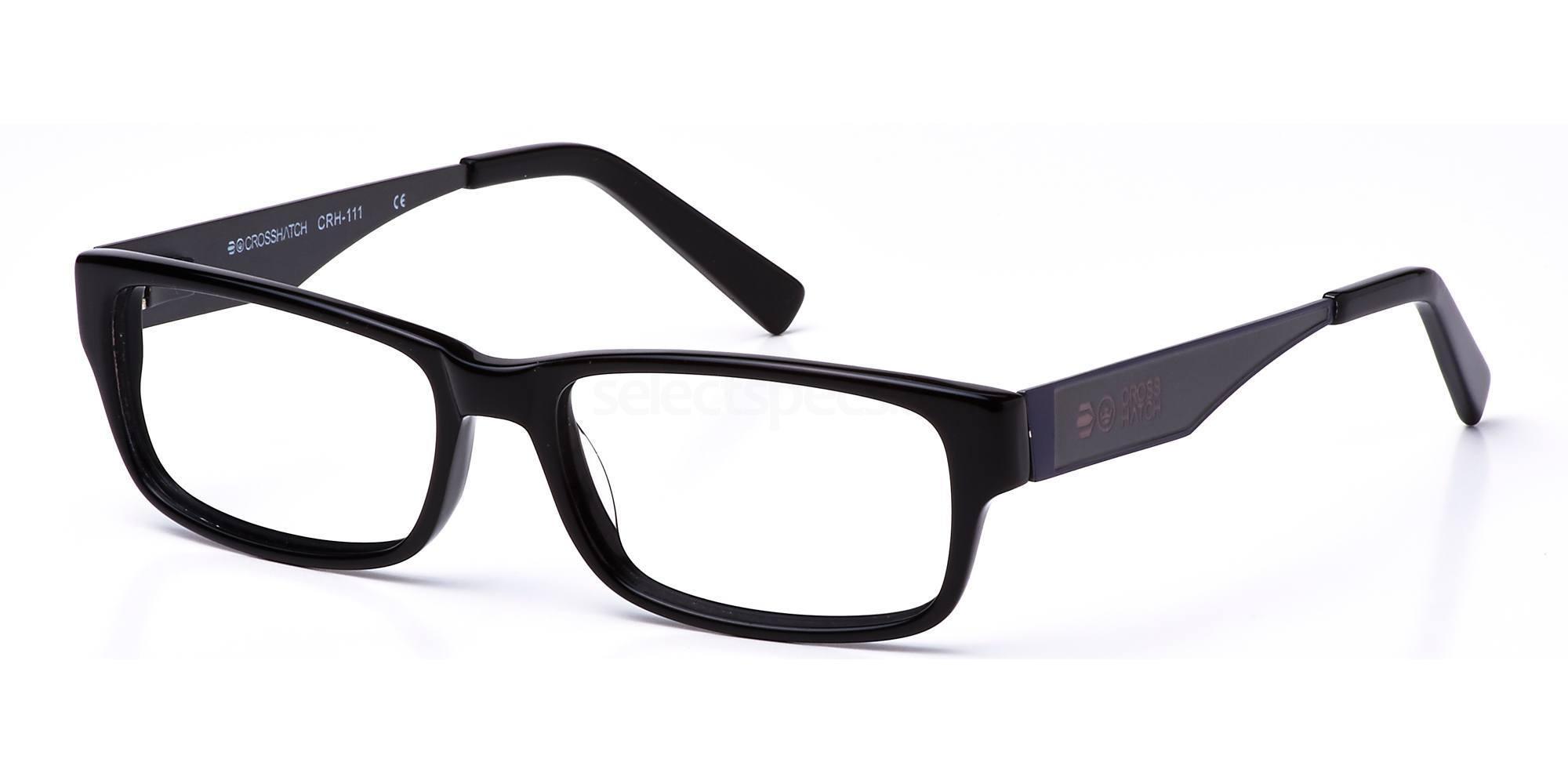 C1 CRH111 Glasses, Crosshatch