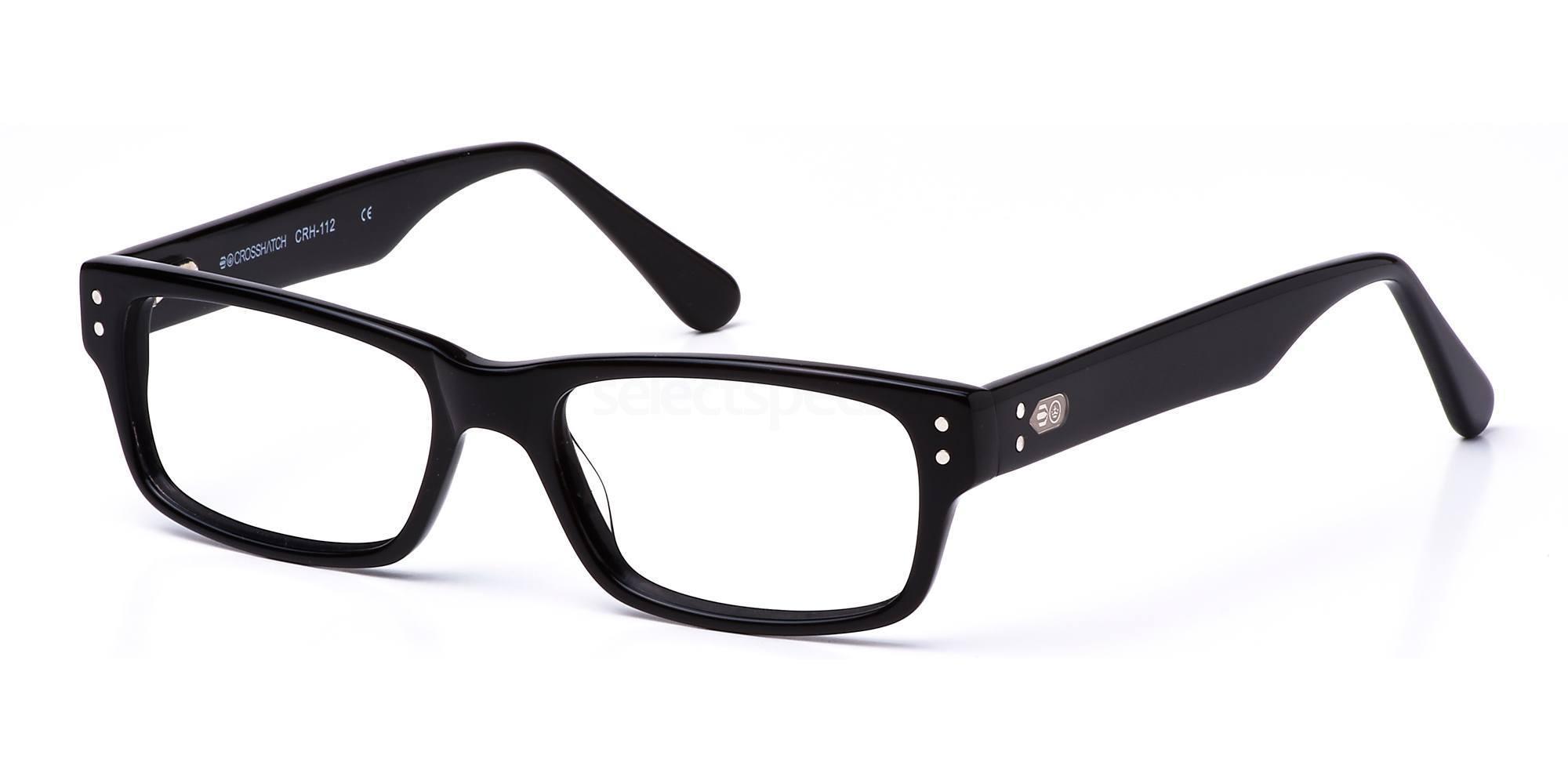 C1 CRH112 Glasses, Crosshatch