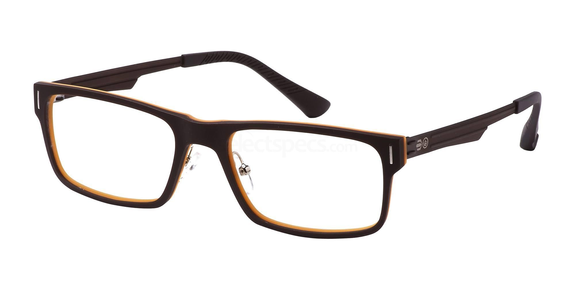 C1 CRH114 Glasses, Crosshatch