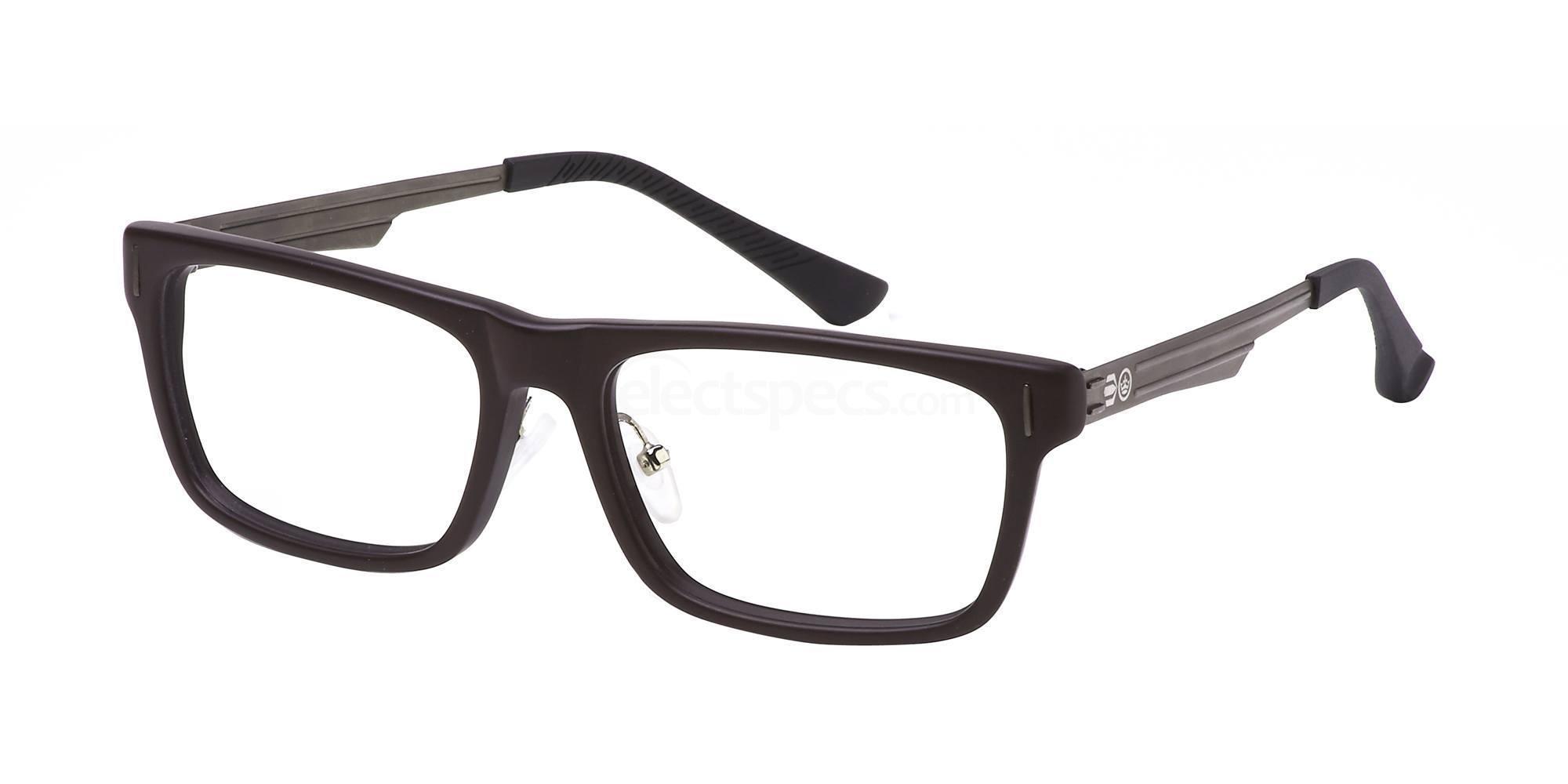 C1 CRH117 Glasses, Crosshatch