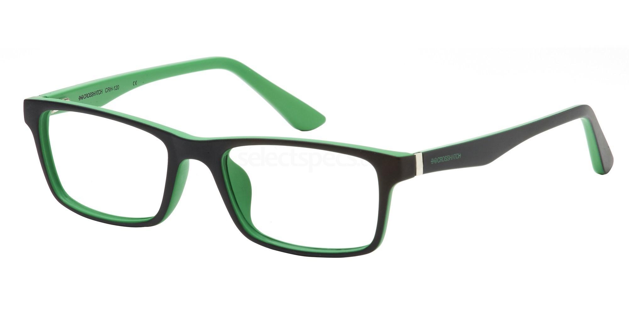 C1 CRH120 Glasses, Crosshatch