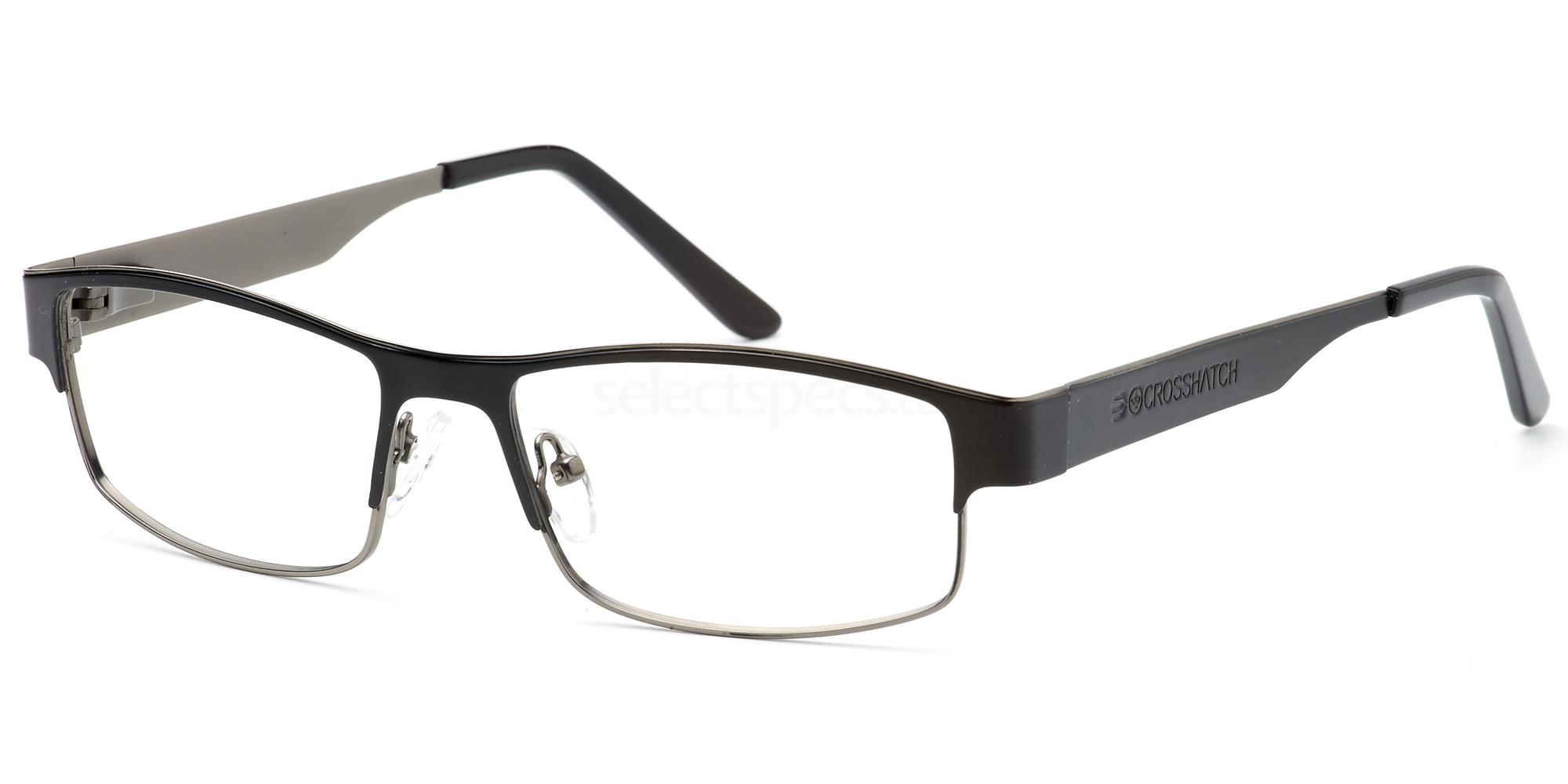 C1 CRH119 Glasses, Crosshatch