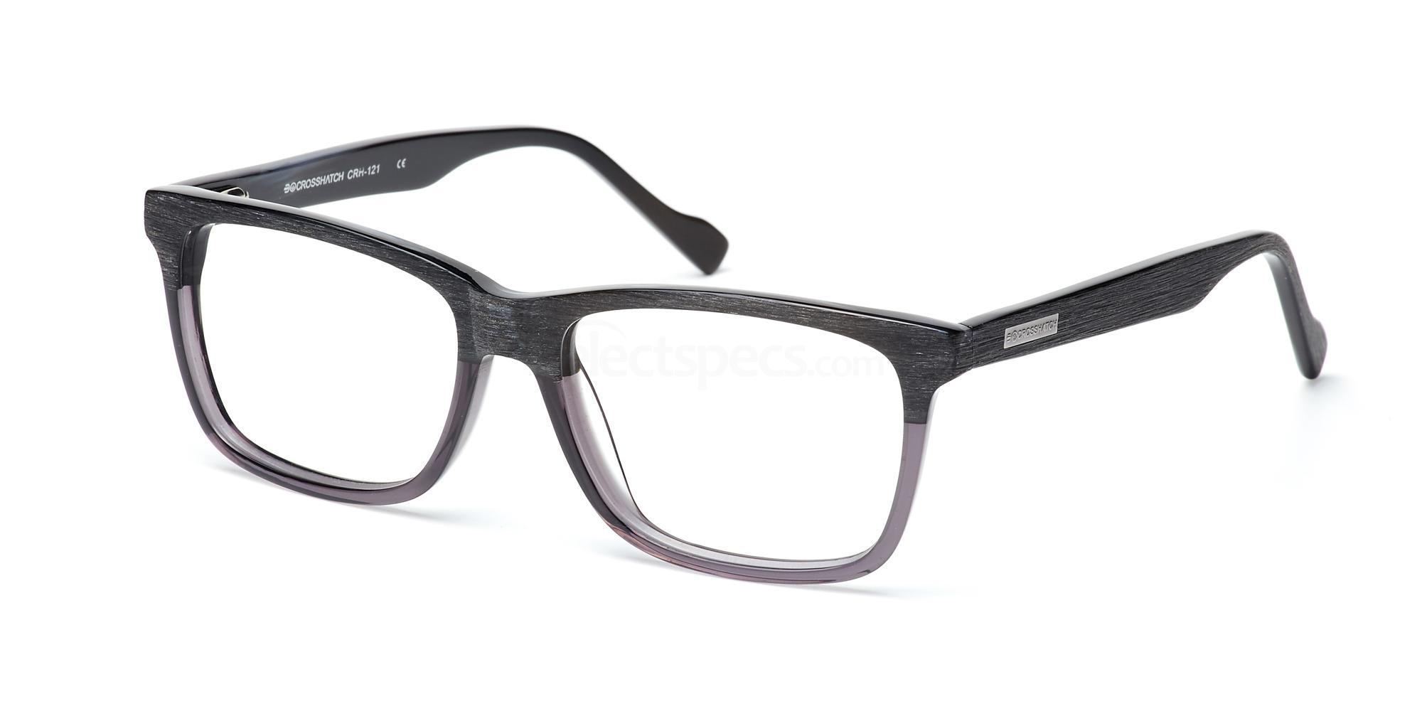 C1 CRH121 Glasses, Crosshatch