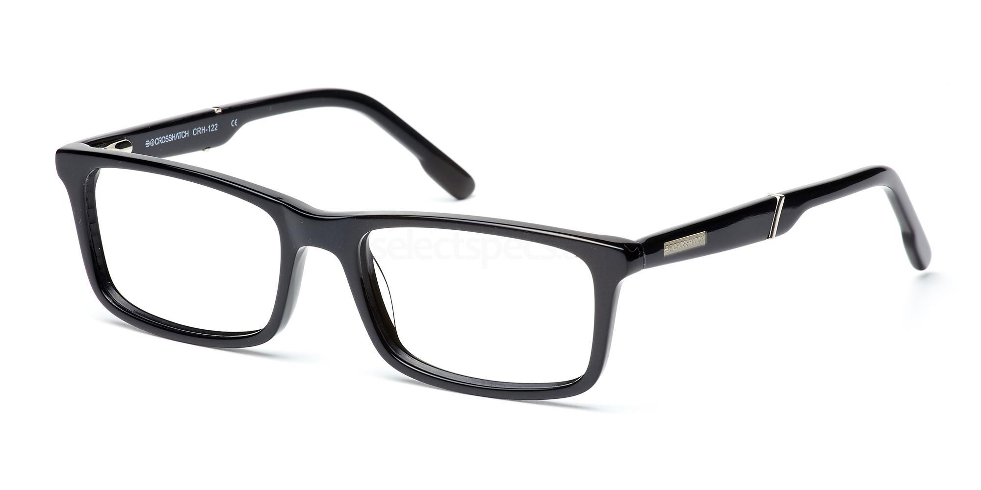 C1 CRH122 Glasses, Crosshatch