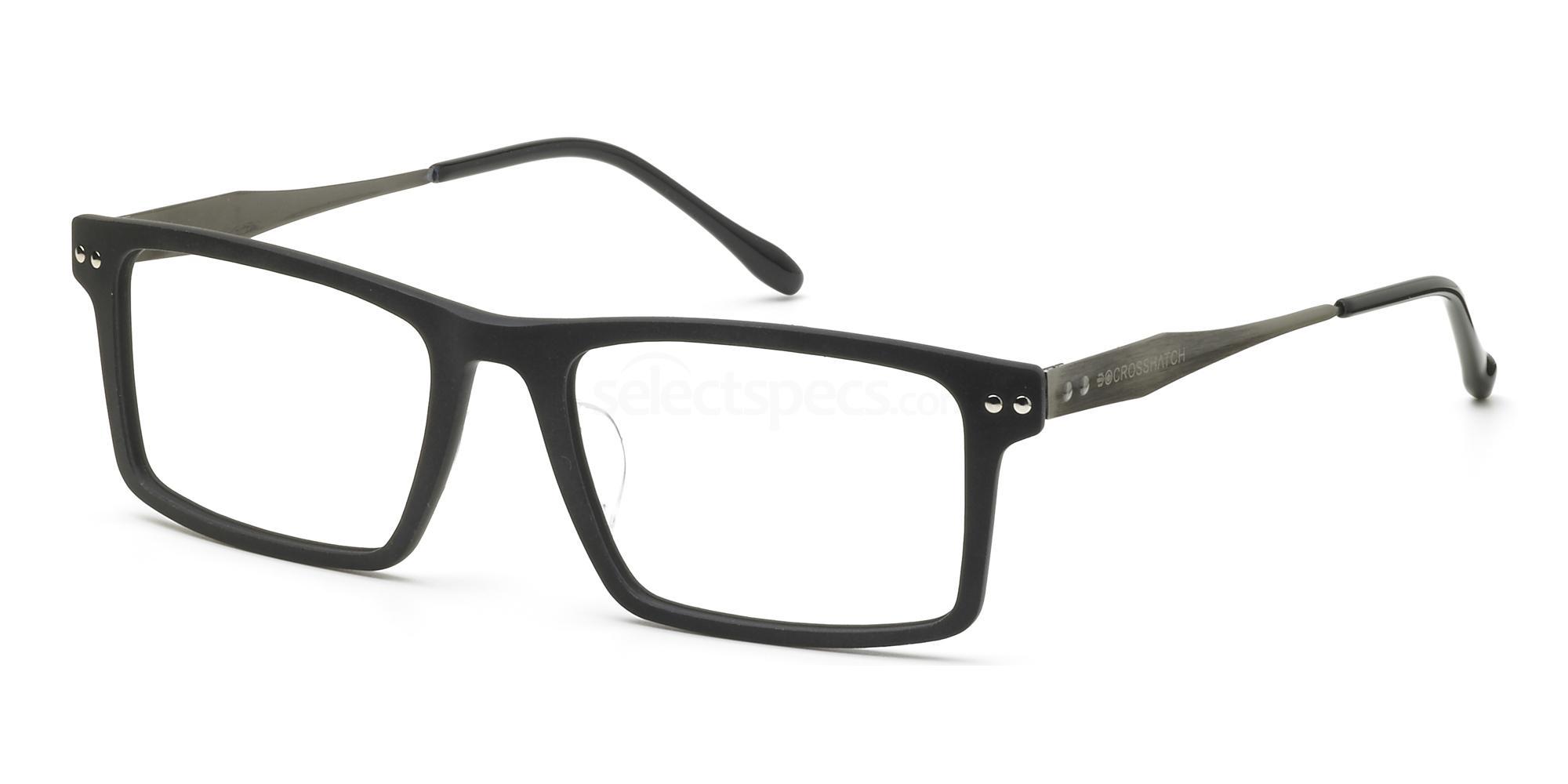 C1 CRH123 Glasses, Crosshatch