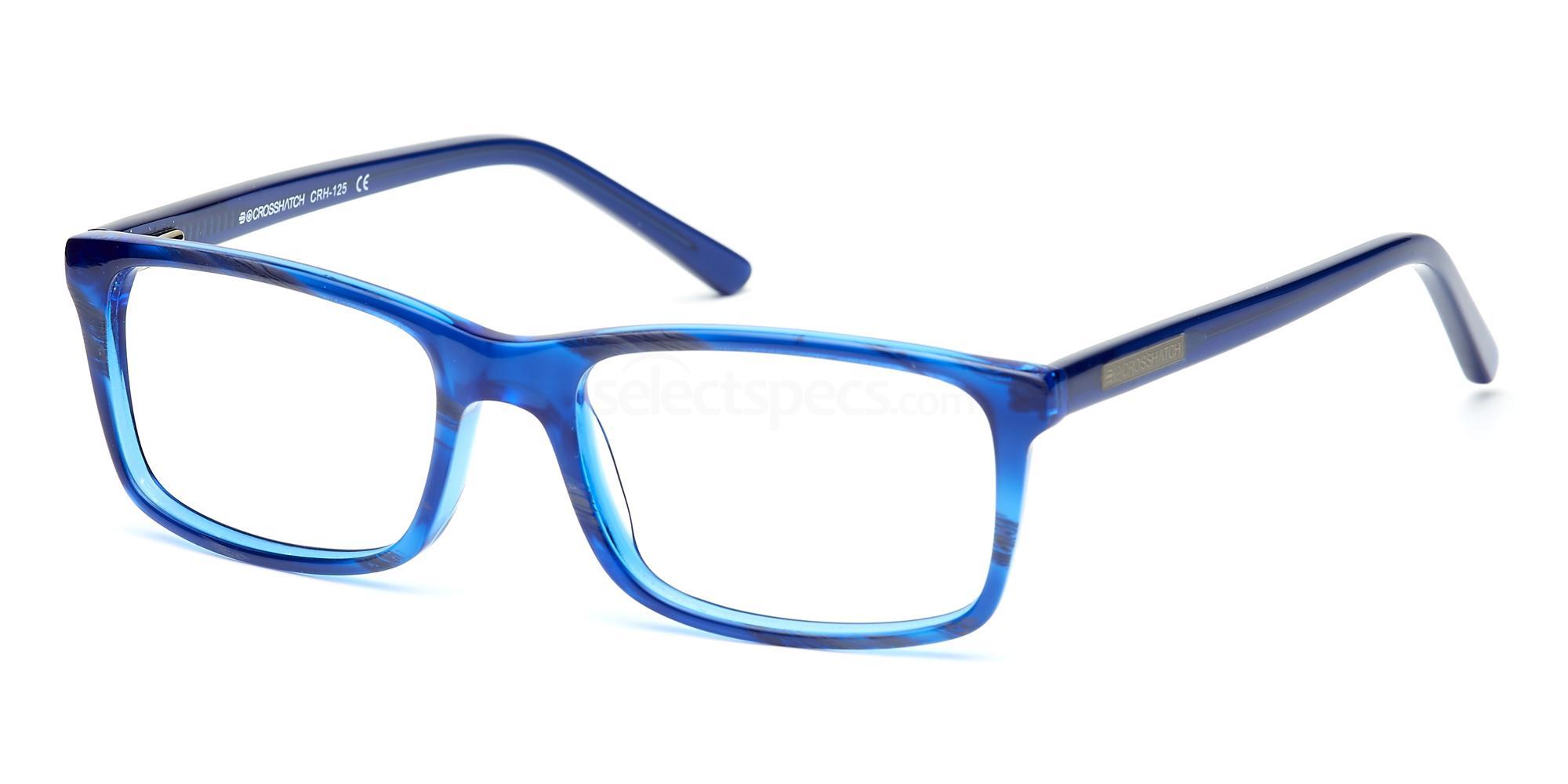 C1 CRH125 Glasses, Crosshatch