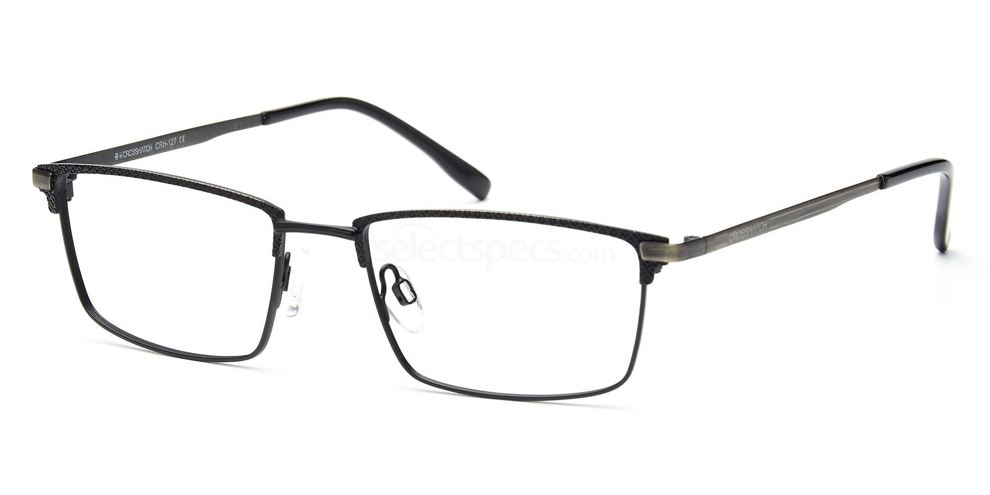 C1 CRH127 Glasses, Crosshatch