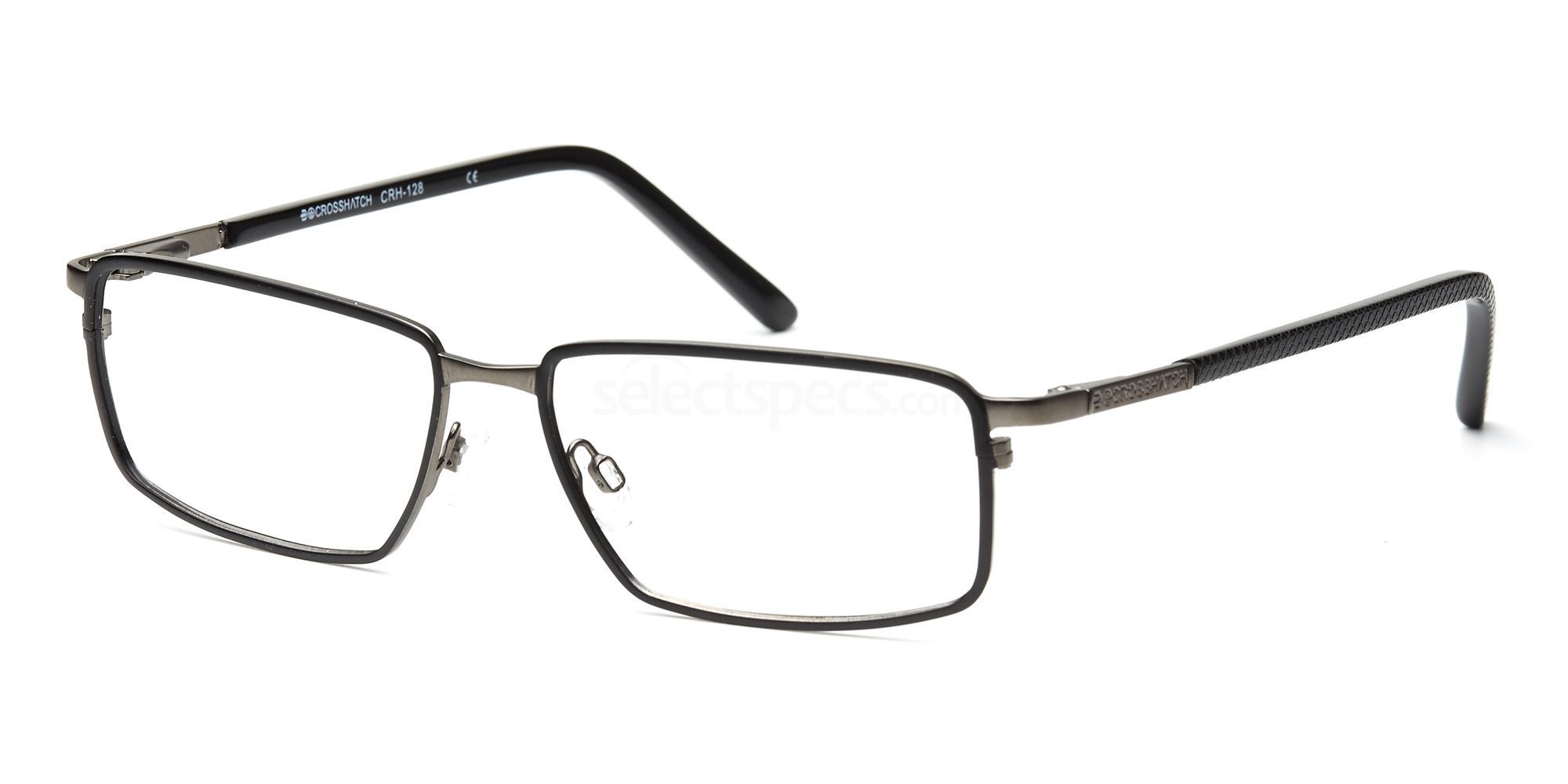 C1 CRH128 Glasses, Crosshatch