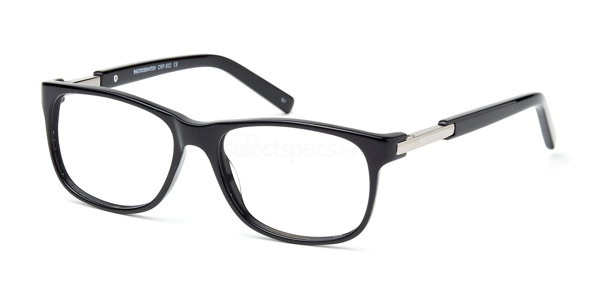 C1 CRF502LE Glasses, Crosshatch