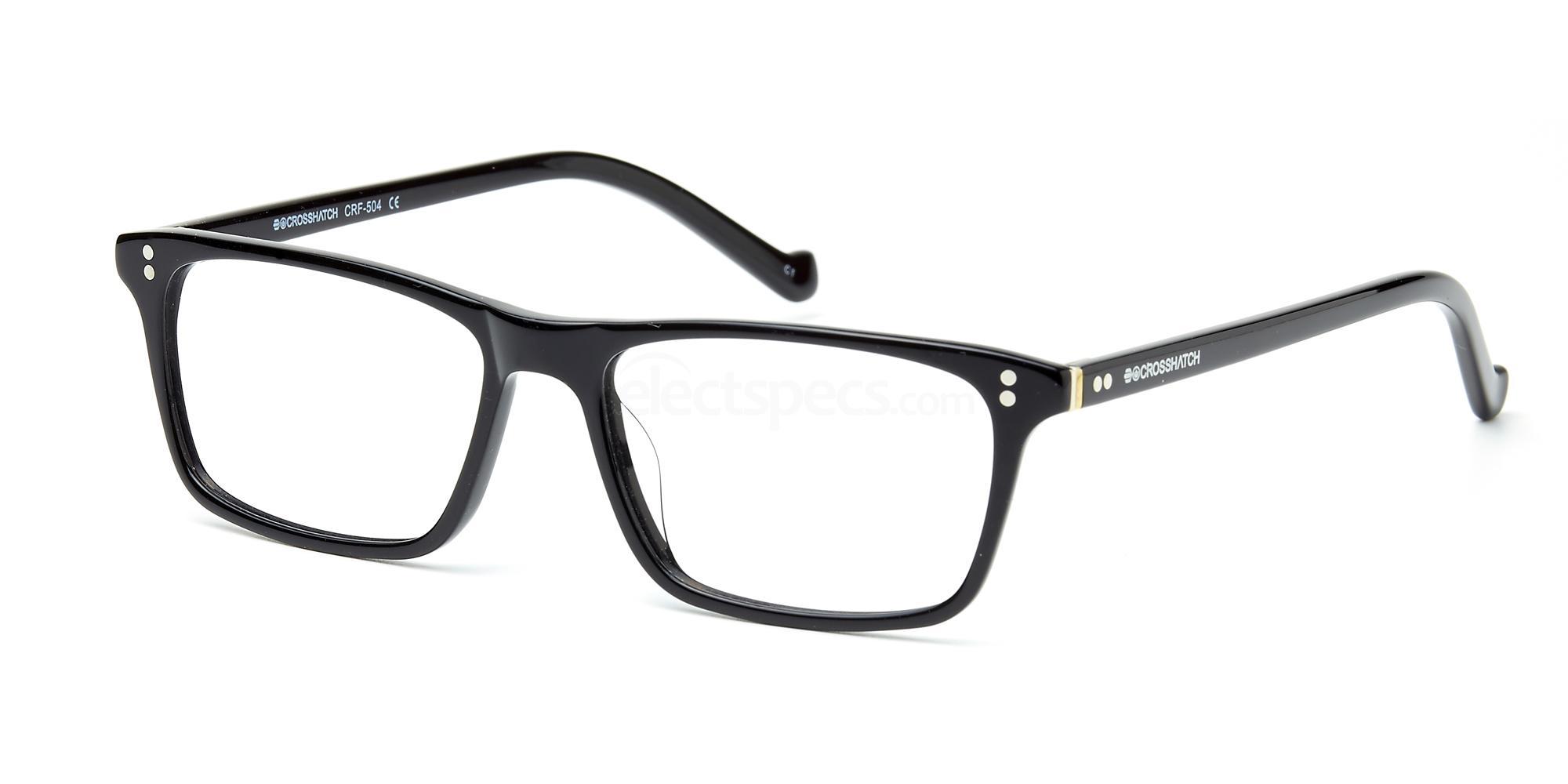 C1 CRF504LE Glasses, Crosshatch