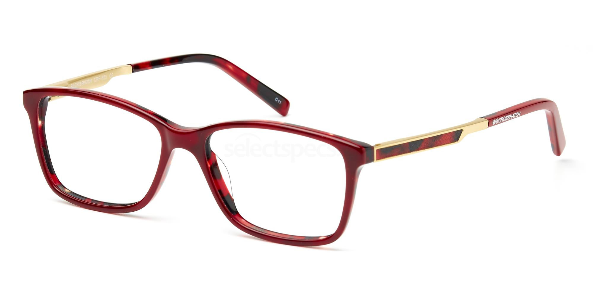 C1 CRF505LE Glasses, Crosshatch