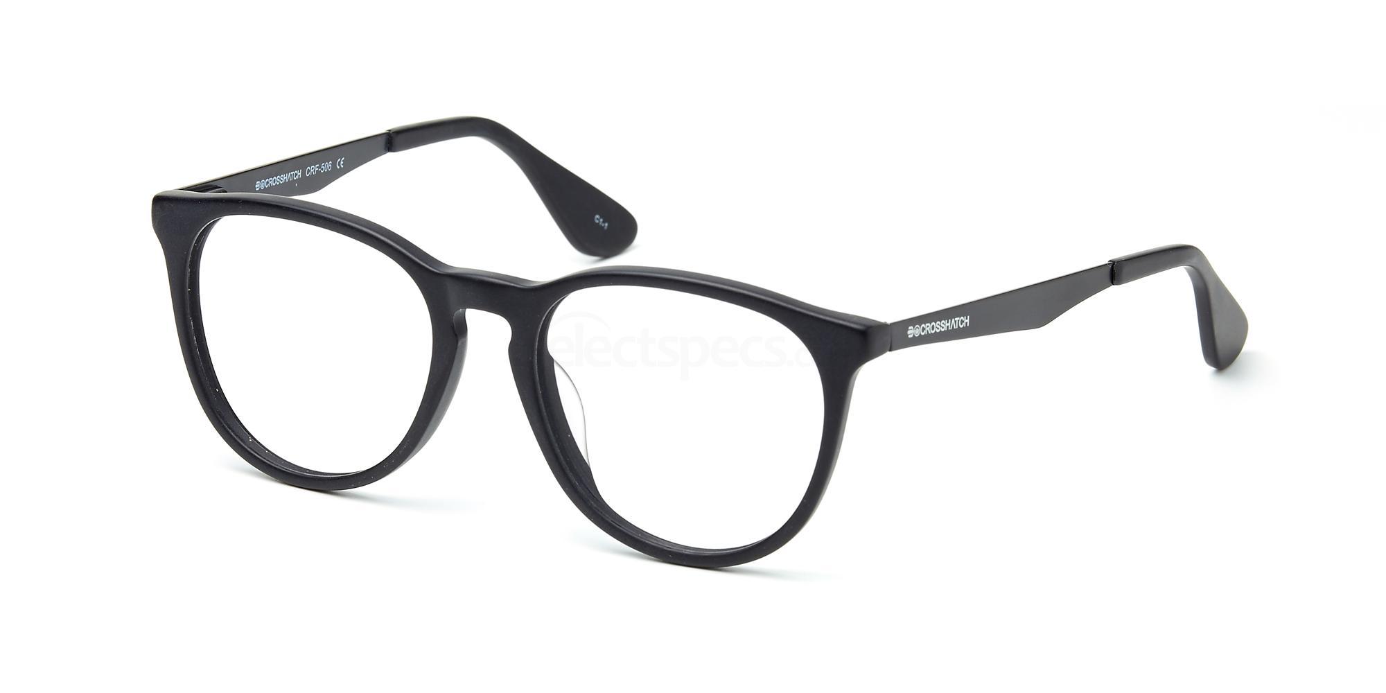 C1 CRF506LE Glasses, Crosshatch
