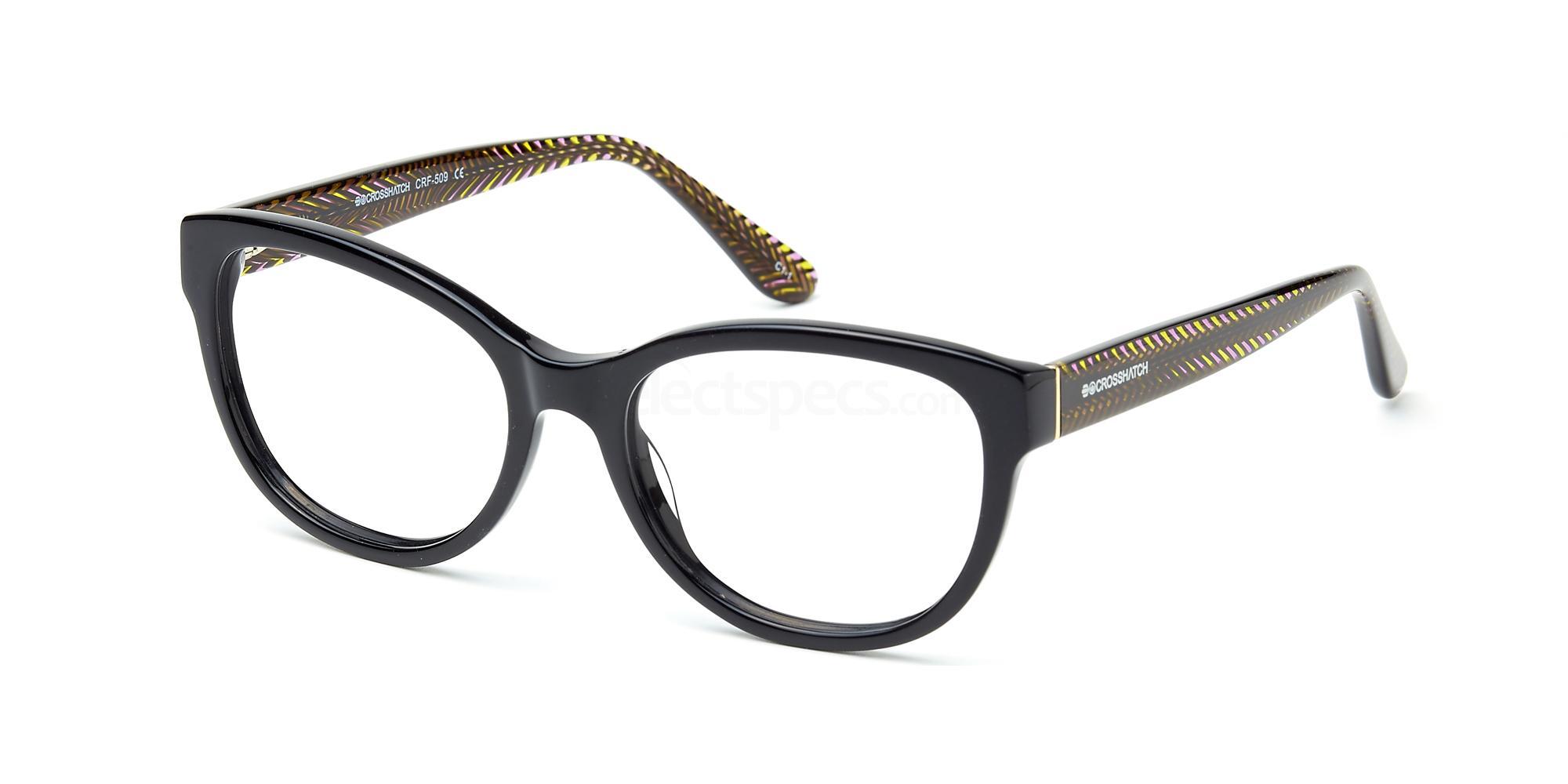 C1 CRF509LE Glasses, Crosshatch