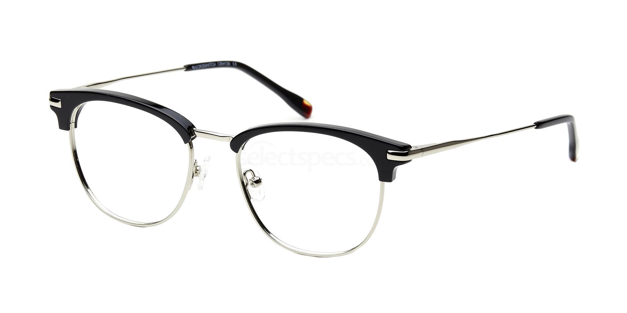 C1 CRH139 Glasses, Crosshatch
