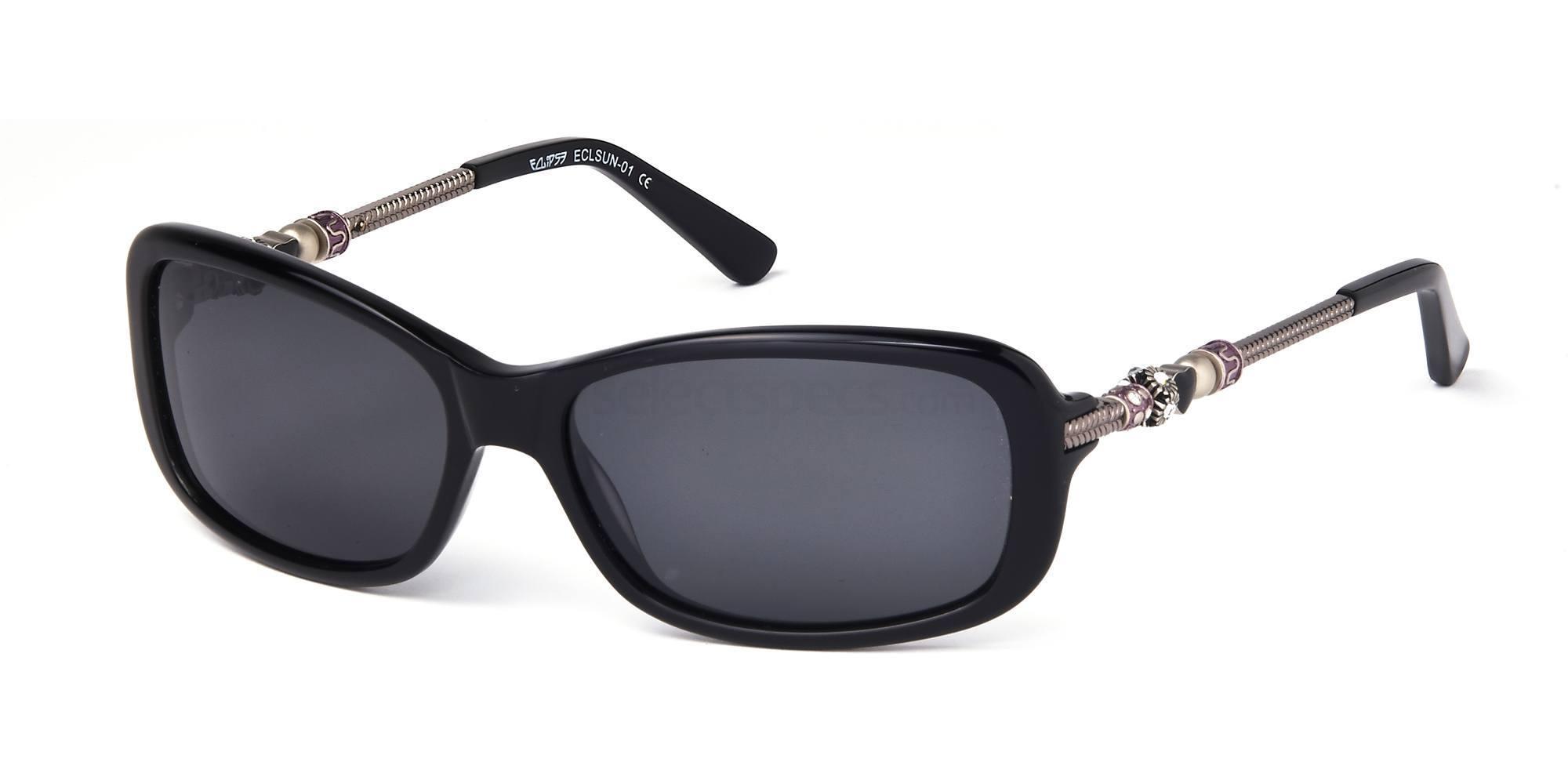 C1 ECLSUN01 Sunglasses, Eclipse