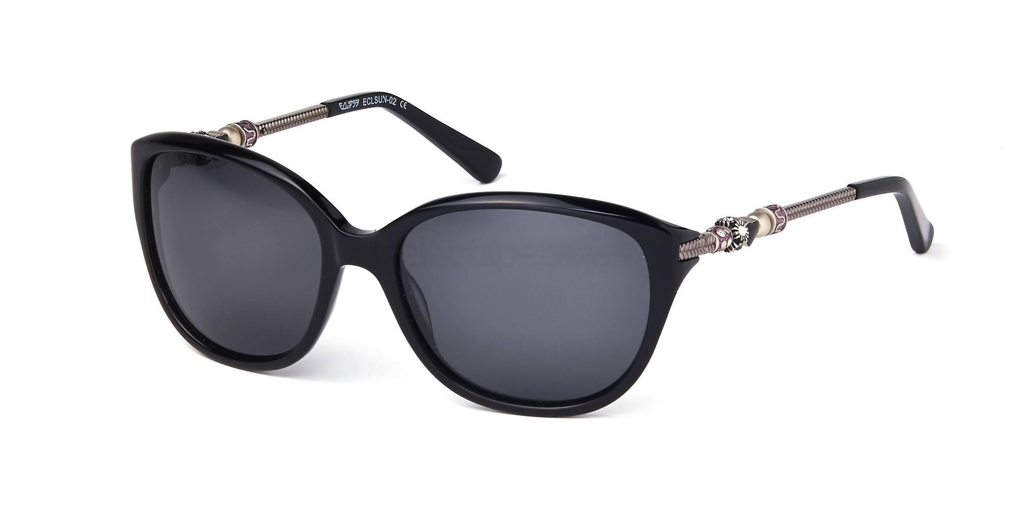 C1 ECLSUN02 Sunglasses, Eclipse