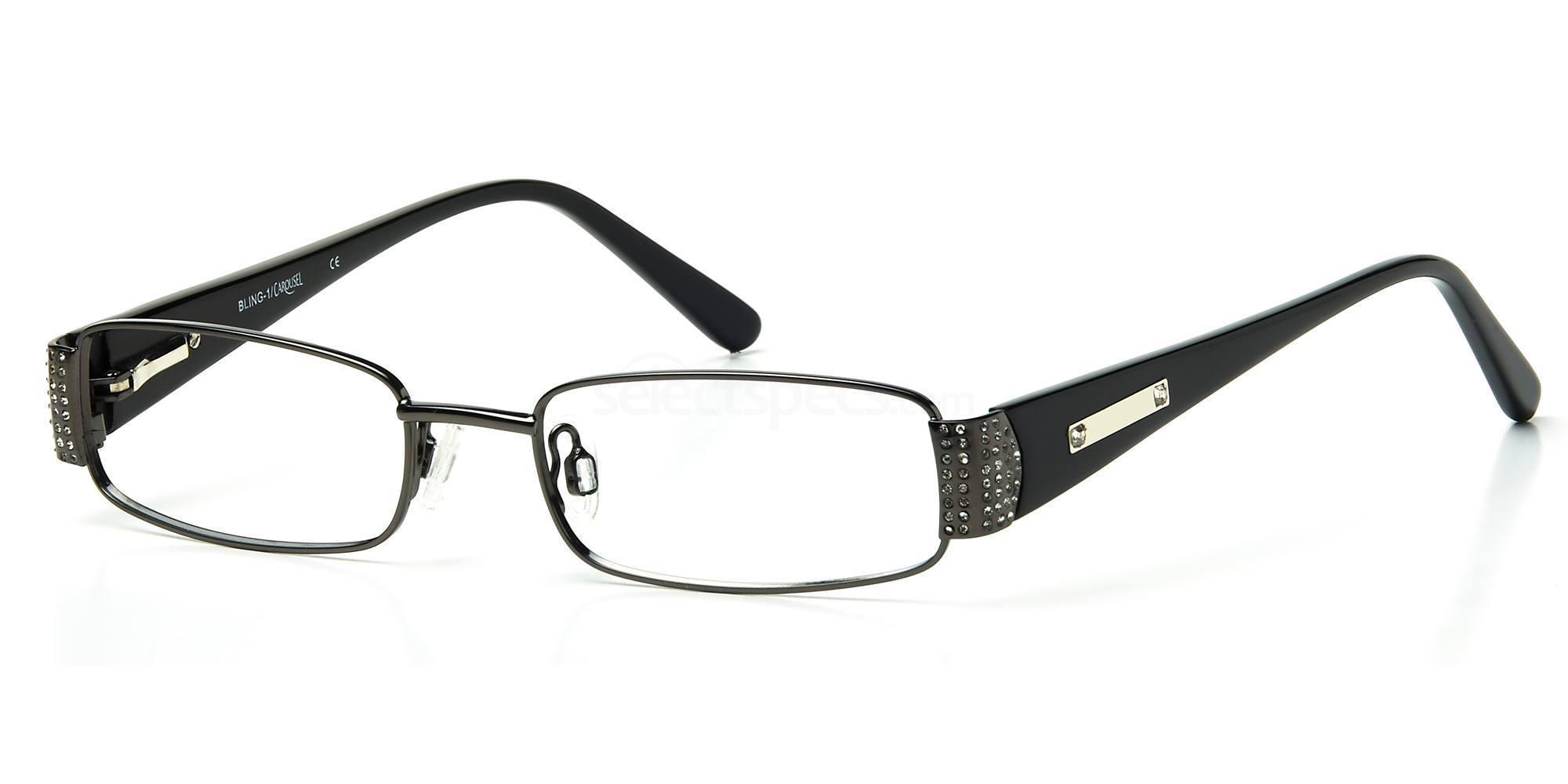 C1 BLING01 Glasses, Bling