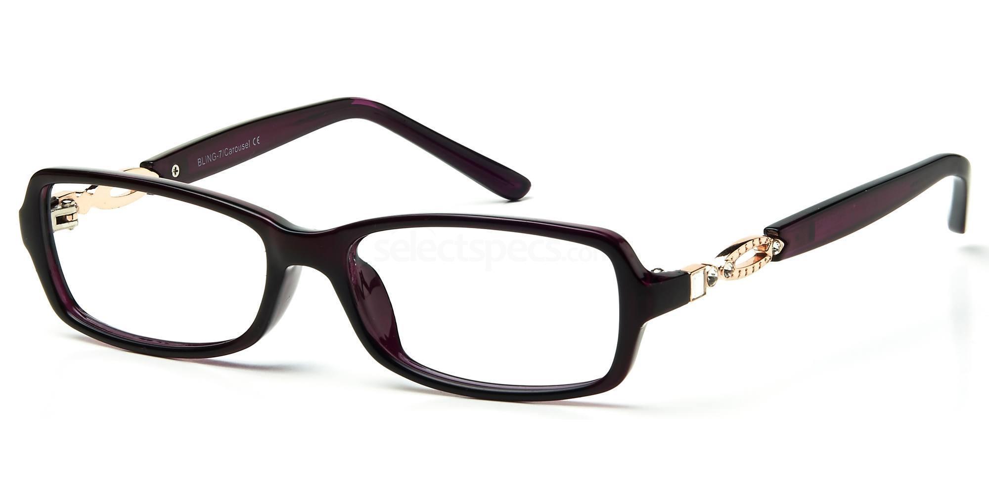 C1 BLING07 Glasses, Bling