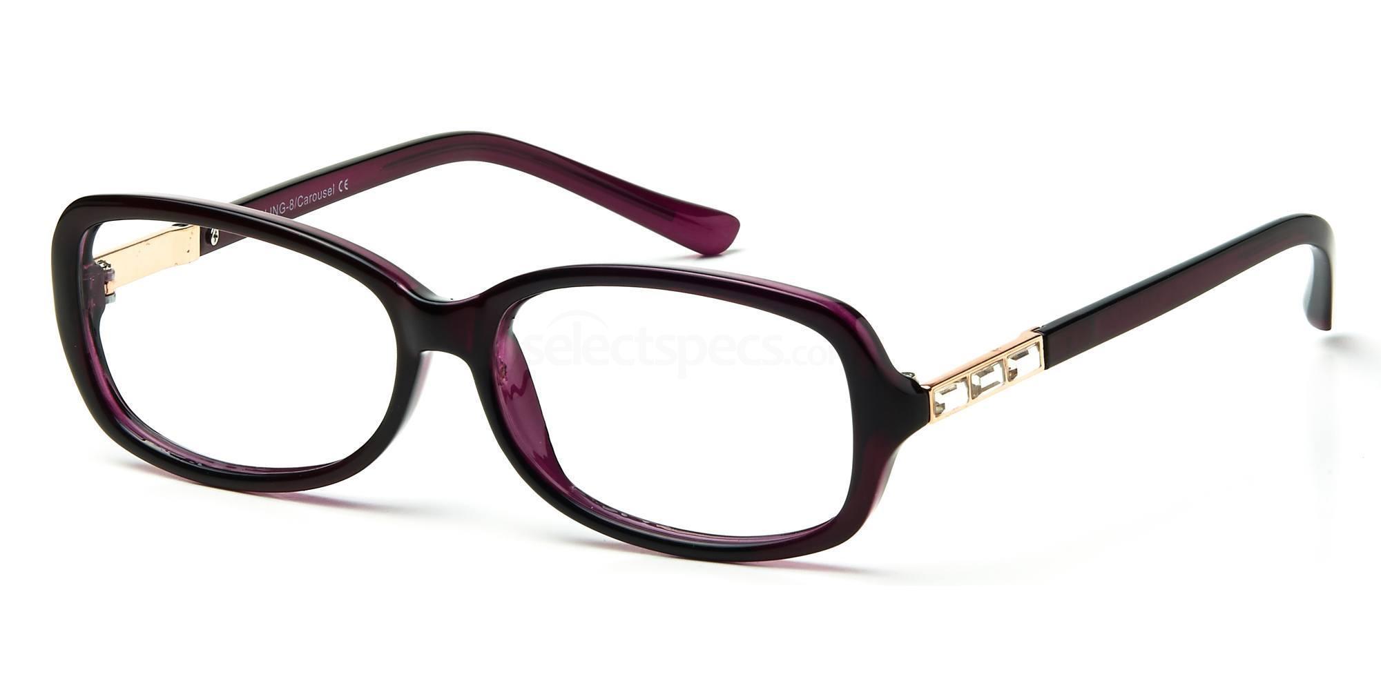 C1 BLING08 Glasses, Bling