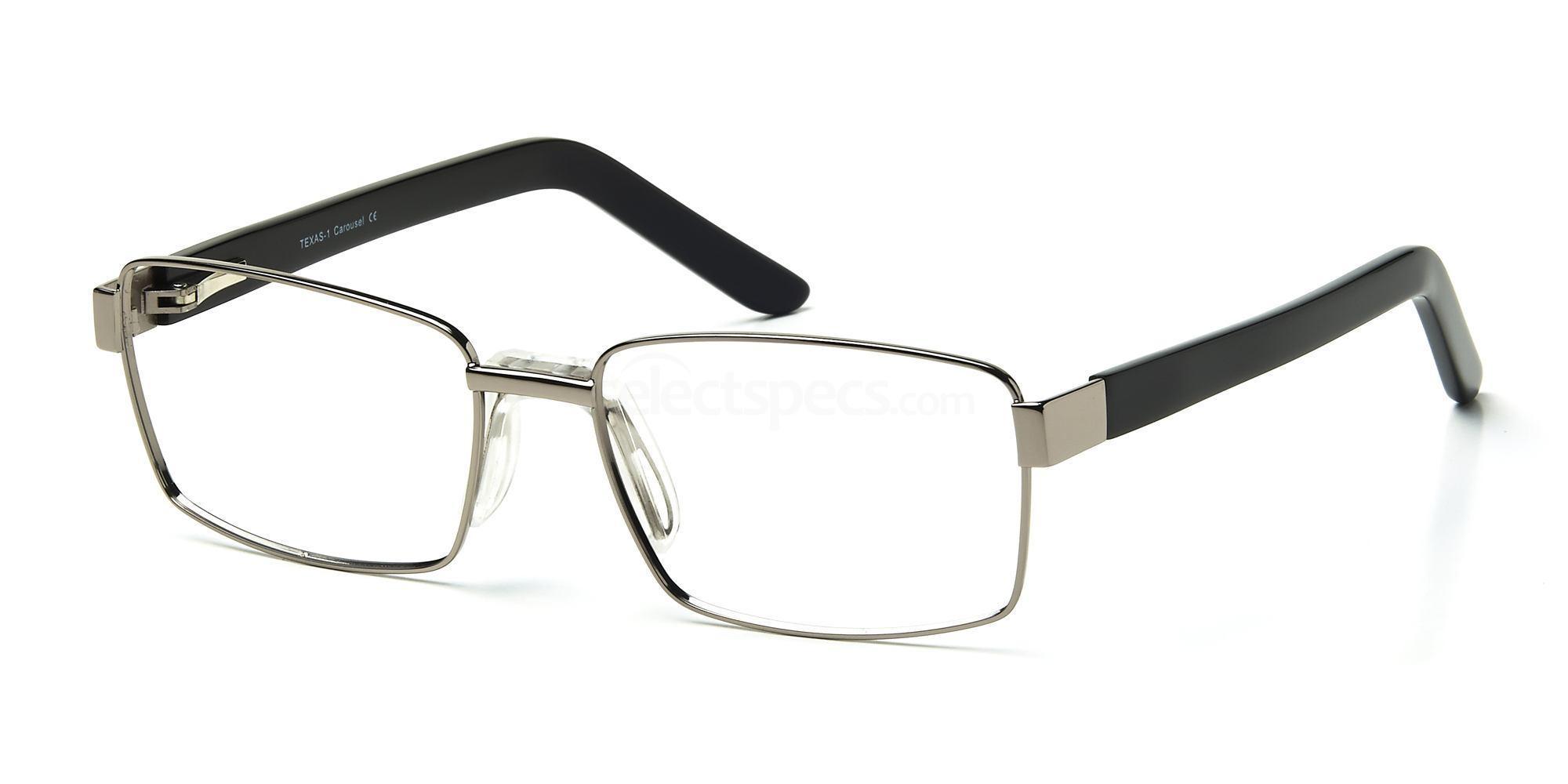 C1 TEXAS1 Glasses, Carousel +