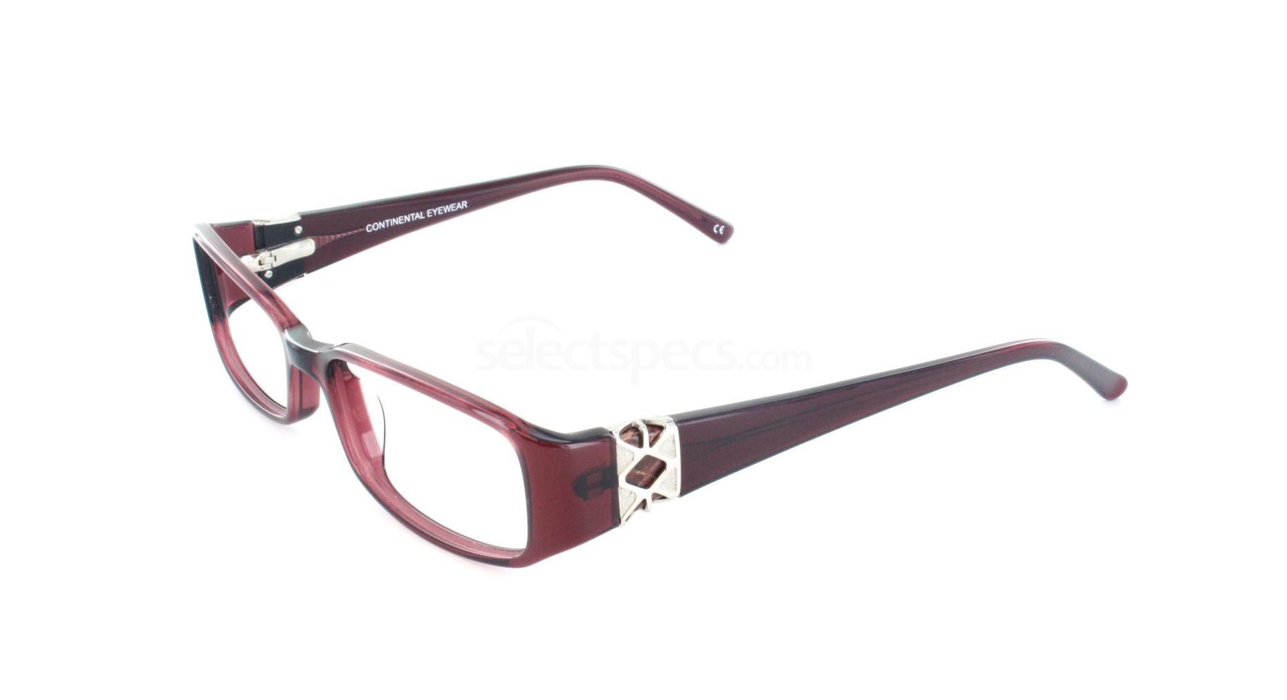 Burgundy 1200 Glasses, Jacques Lamont