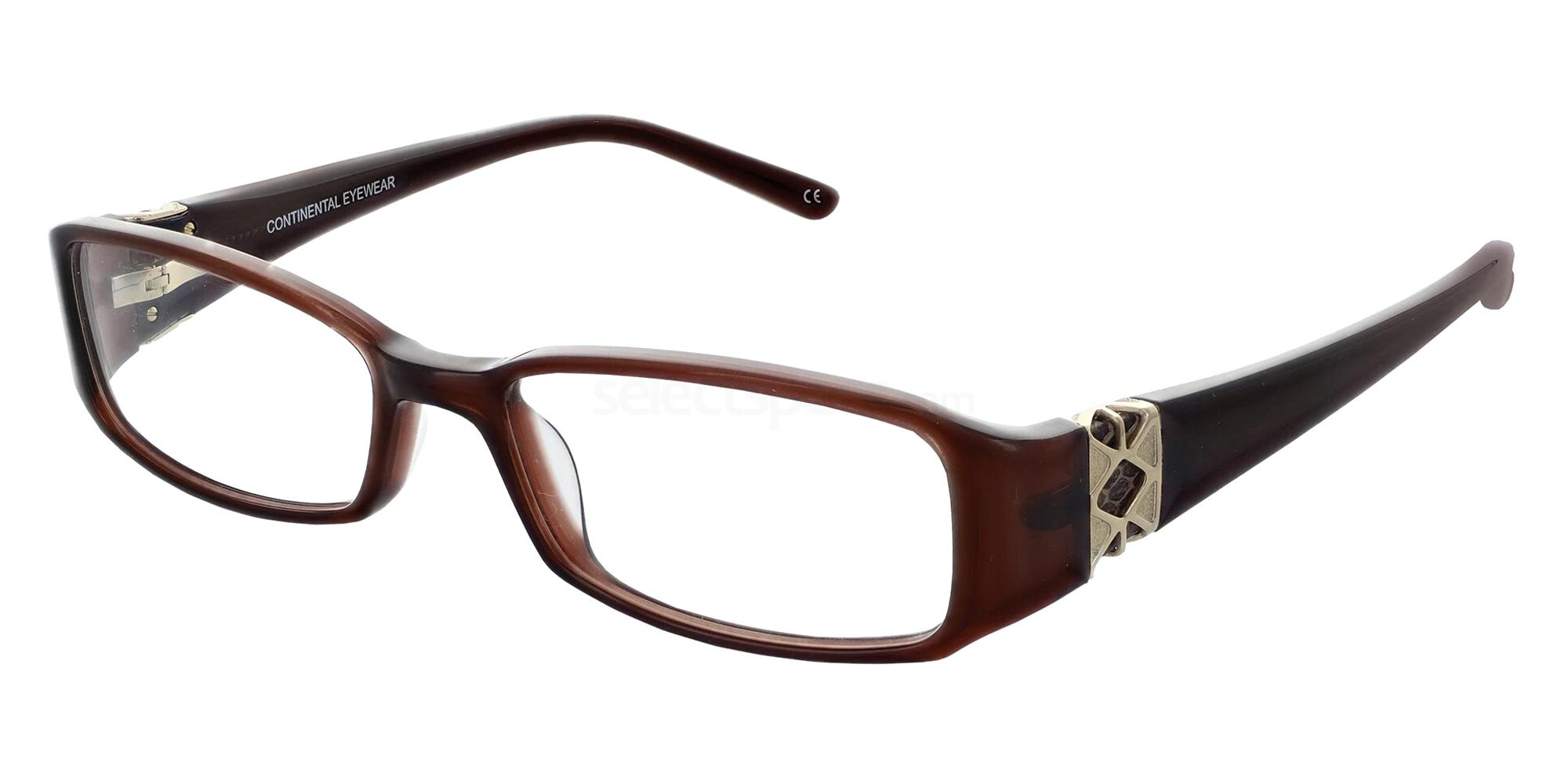 Brown 1200 Glasses, Jacques Lamont