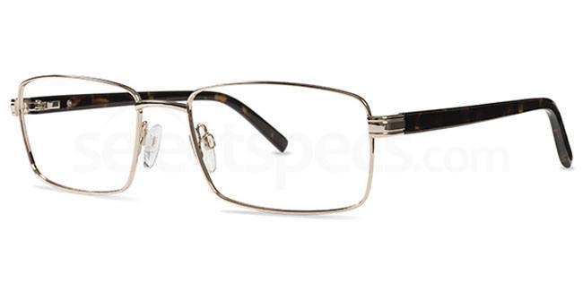 Gold JL 1244 Glasses, Jacques Lamont