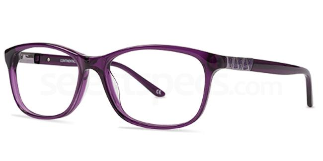 Purple 1256 Glasses, Jacques Lamont