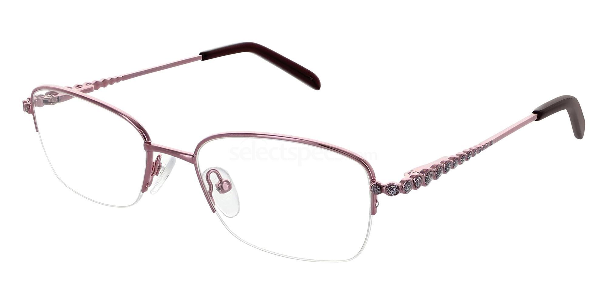 Rose 1276 Glasses, Jacques Lamont